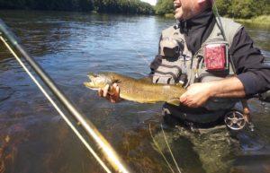 Pescar en el Río Tormes